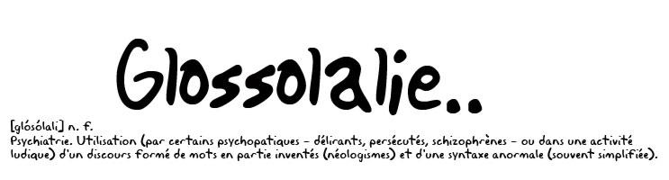 Glossolalie